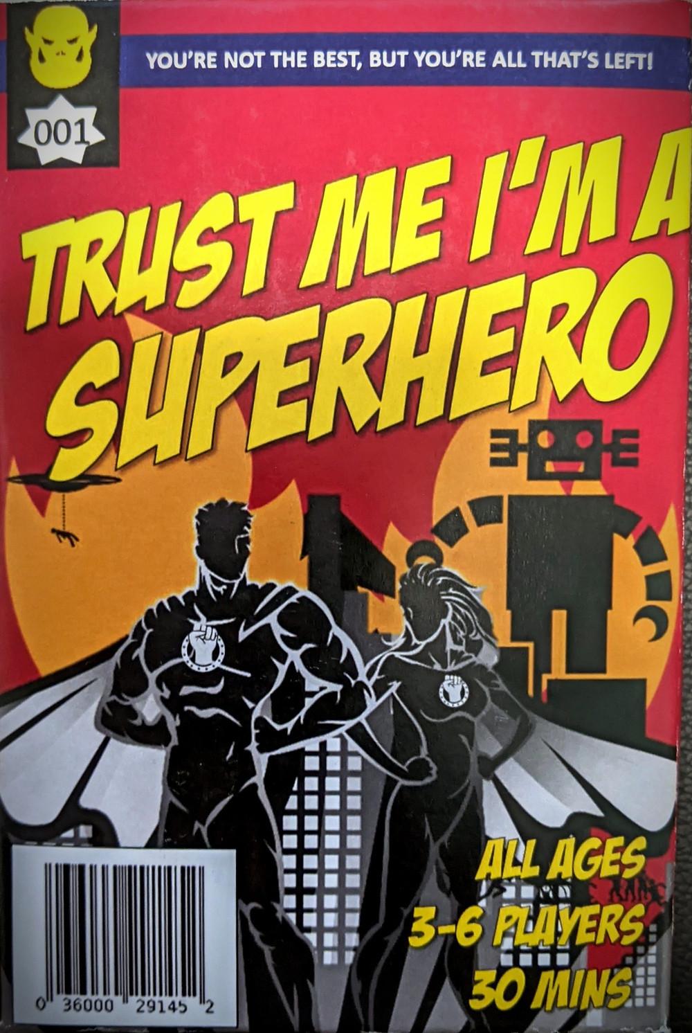 Trust Me, I'm a Superhero Box Art