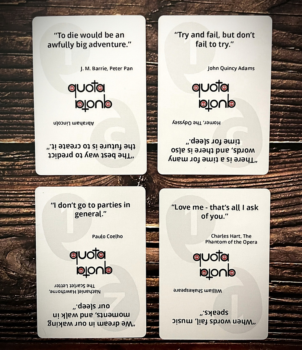 Quota Cards
