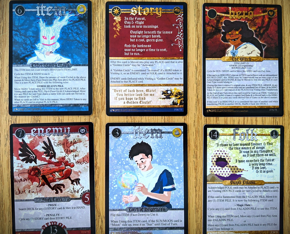 Spell Saga Cards - Expansion