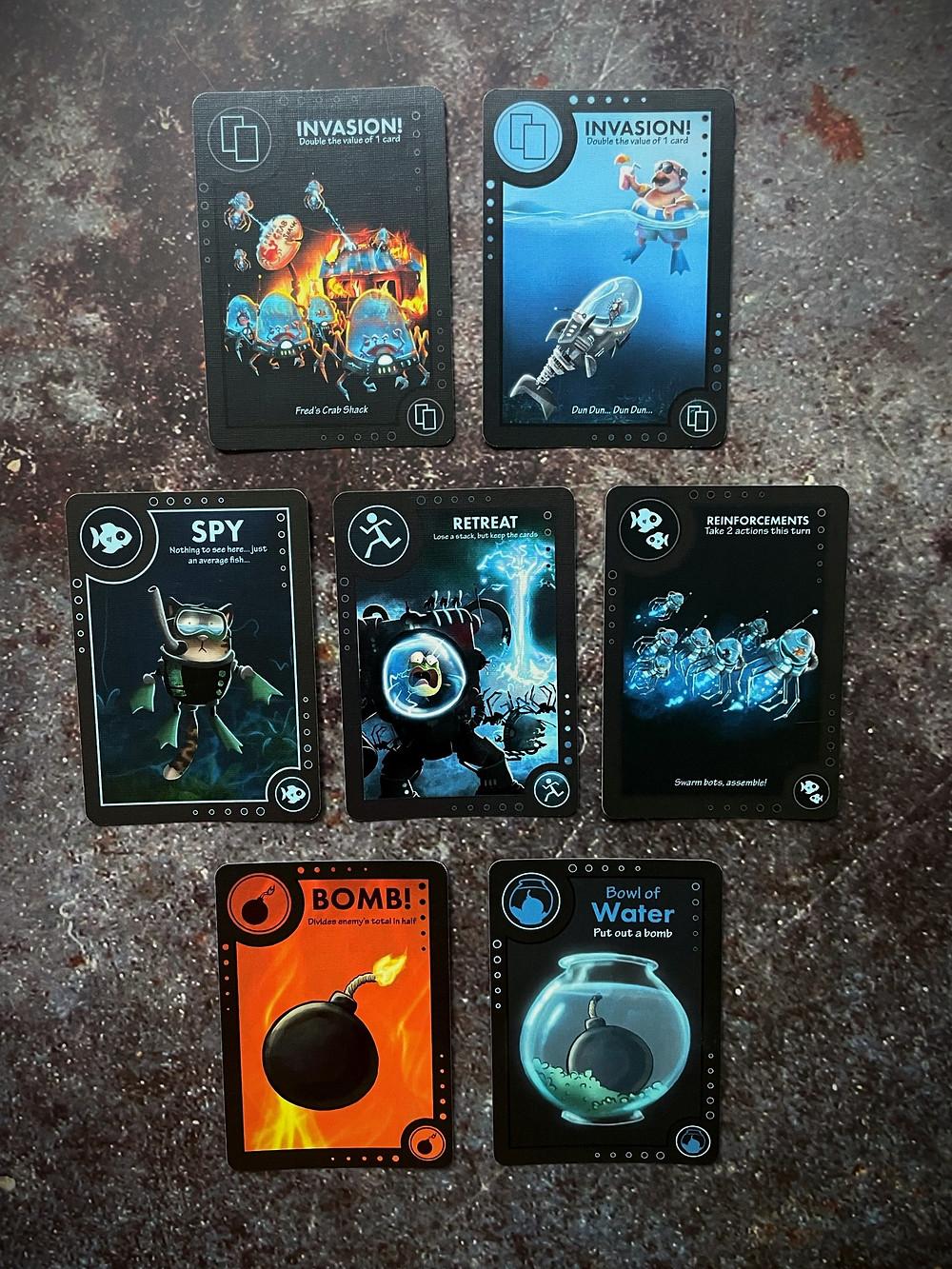 BattleFish specialty cards