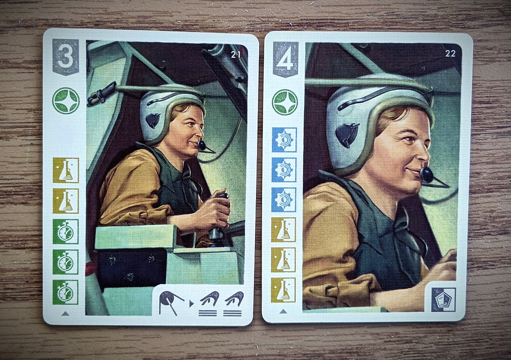 Space Explorers specialist cards