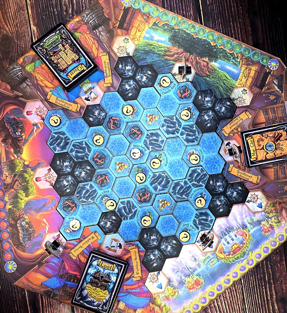 Quests & Cannons gameboard