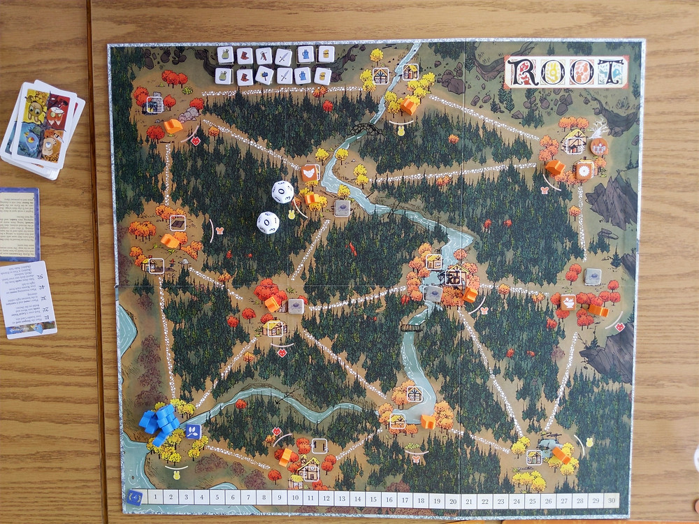 Root - board for game