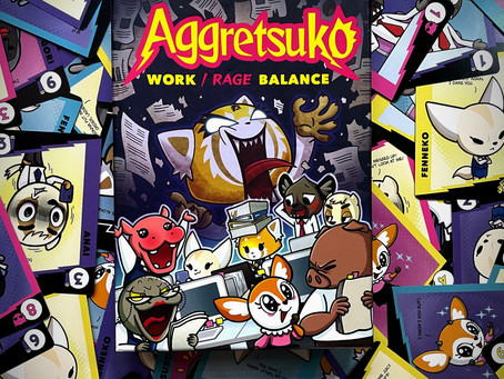 A Game About Just Trying to Survive Another Day at the Office - Aggretsuko: Work/ Rage Balance