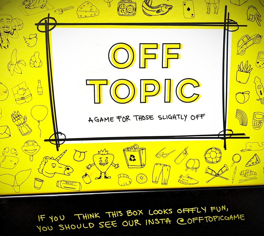 Off Topic Box Art