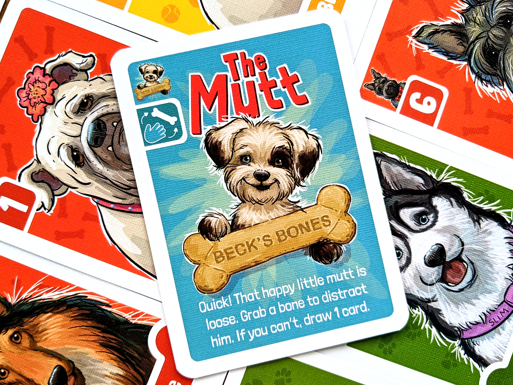 Nuts About Mutts Mutt Card