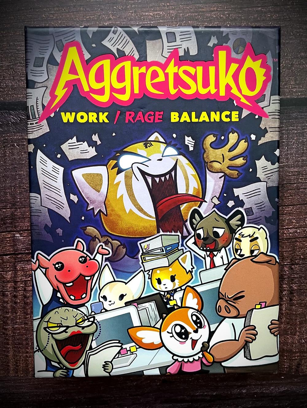Aggretsuko: Work/ Rage Balance Box