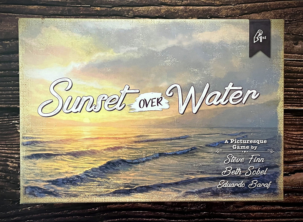 Sunset Over Water Box