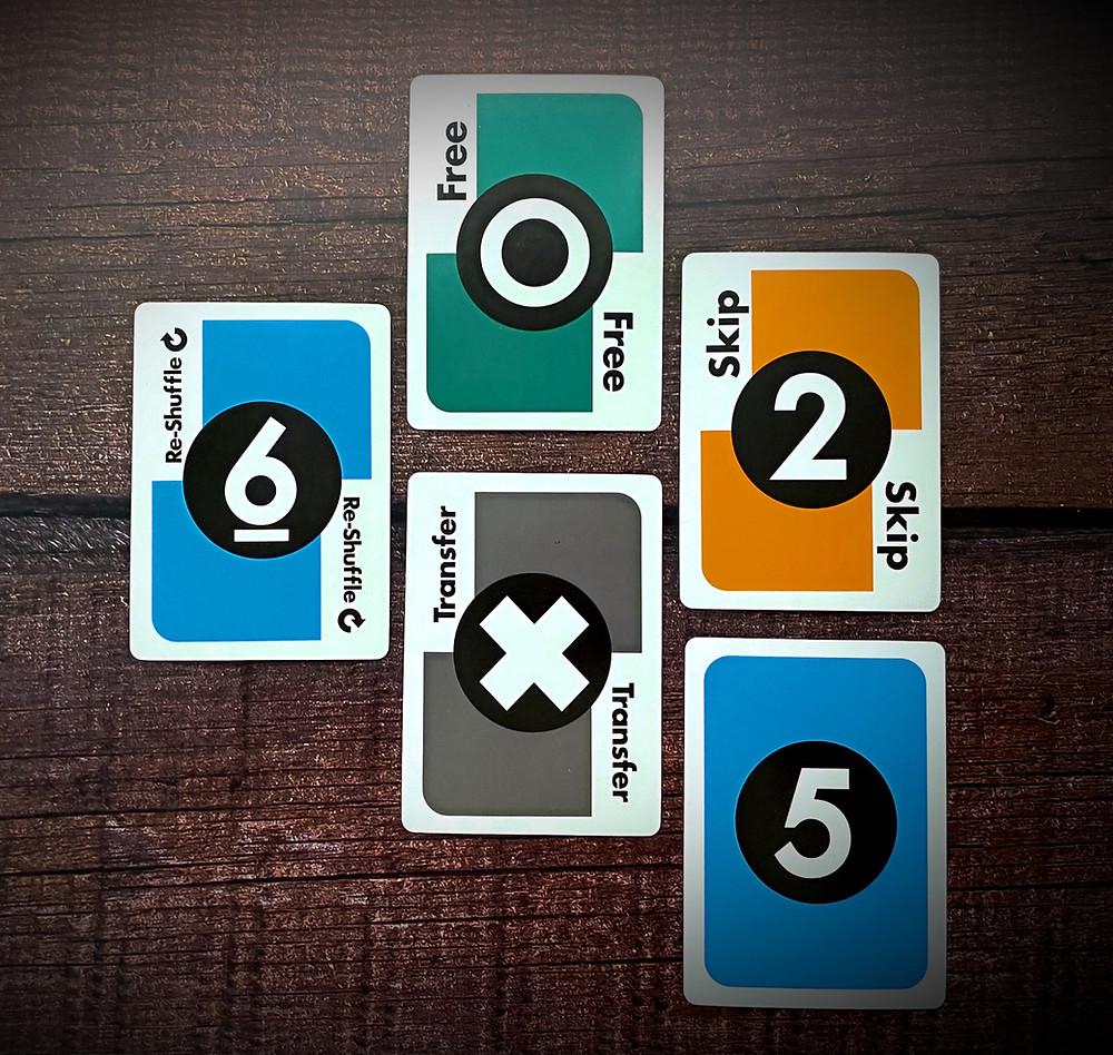 Metro X Card Types