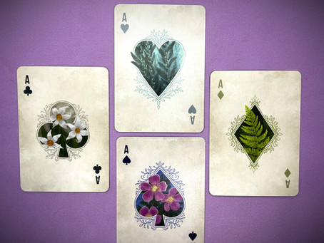 A Super Peaceful Deck of Cards - River and Stones Playing Cards by Beth Sobel