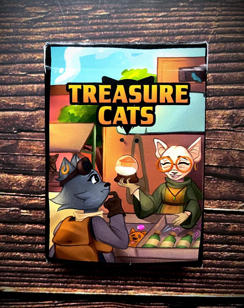 Treasure Cats Box