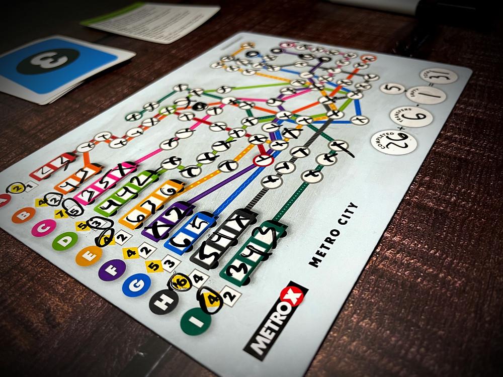 Metro X finished board