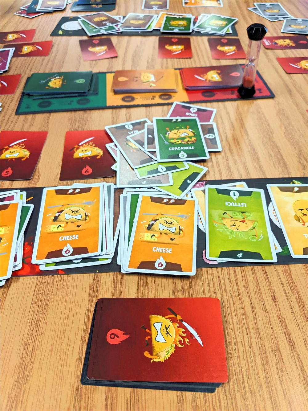 ¡Taco Fight! cards and boards