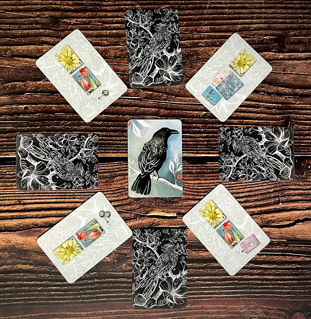 Floriferous pesky guest solo cards