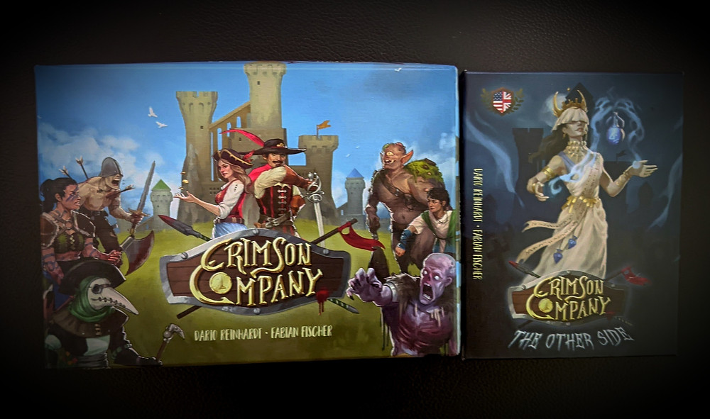 Crimson Company and Expansion Boxes