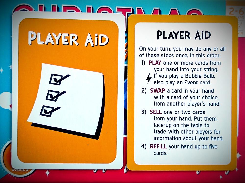 Christmas Lights A Card Game Player Aid