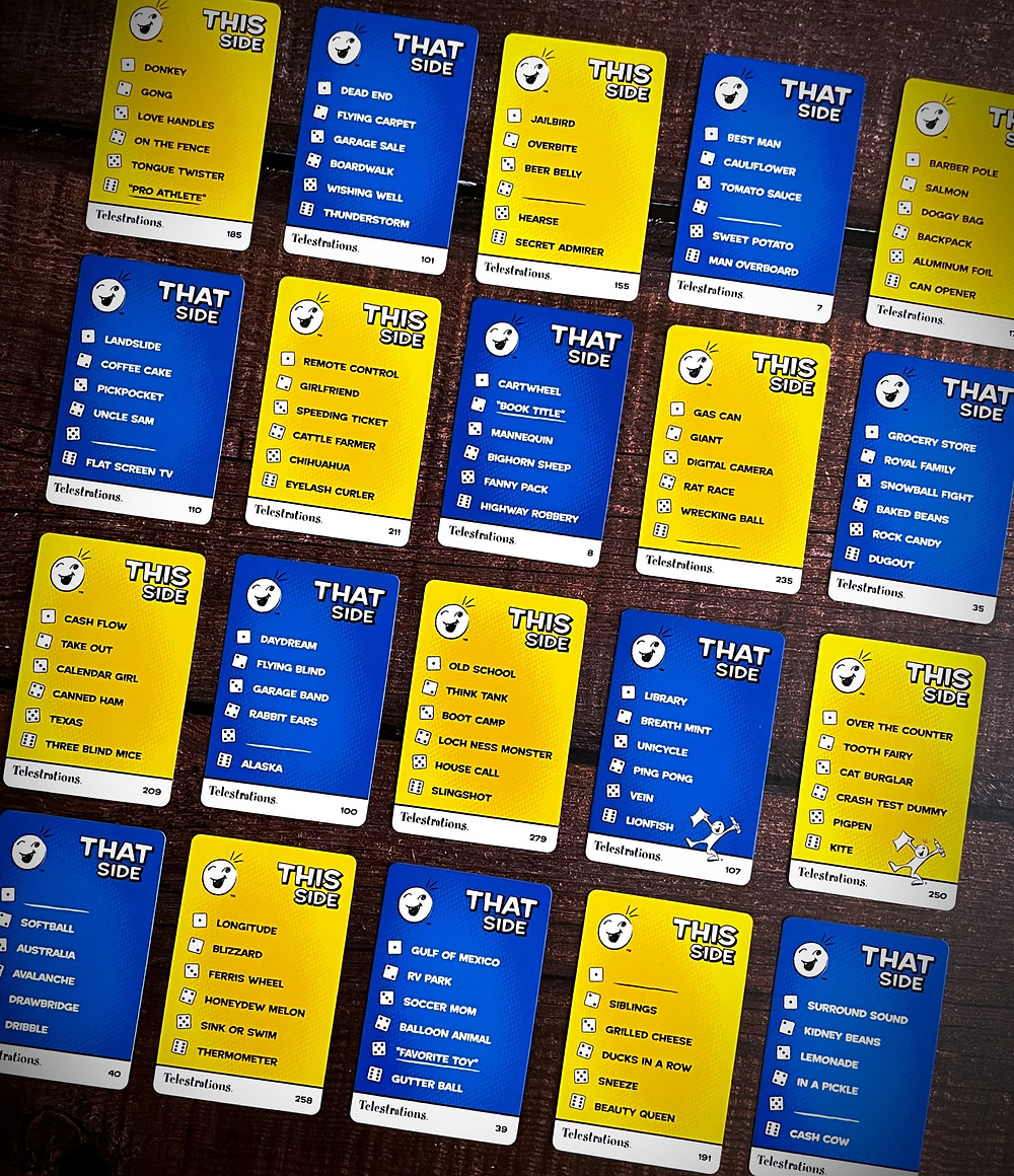 Telestrations cards