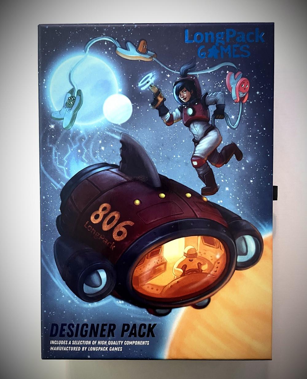 LongPack Games Designer Pack Box