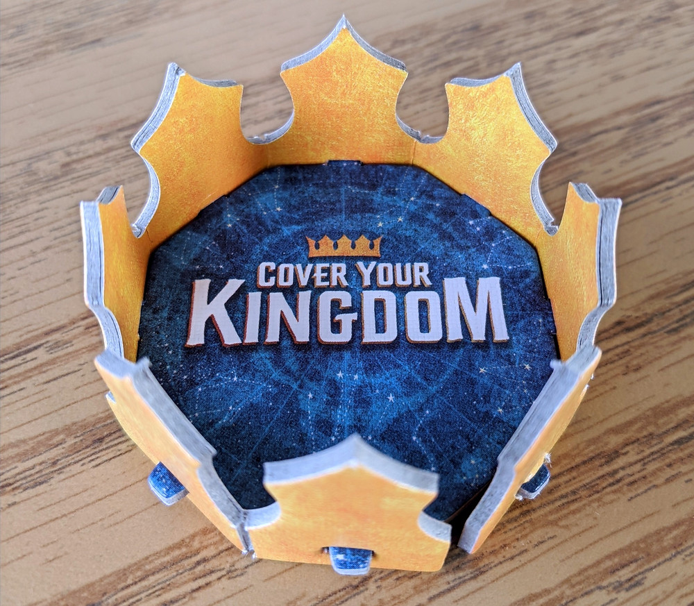 Cover Your Kingdom Crown for the Winner/ Turn Marker