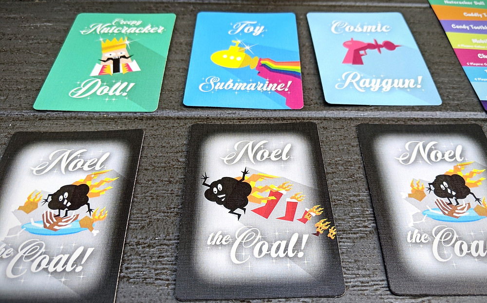 Example Stocking Room Cards and Noel the Coal Cards