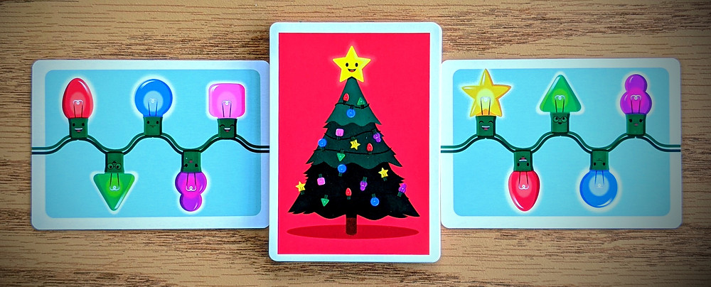 Christmas Lights A Card Game Pattern Cards