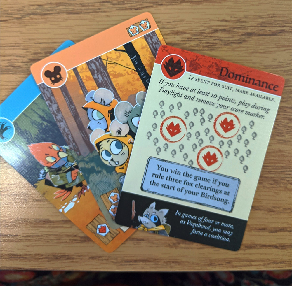Cards from Root