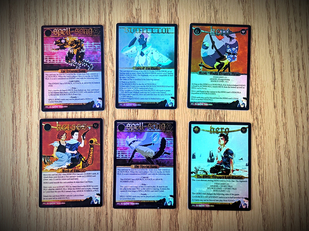 Spell Saga Cards - Holographic