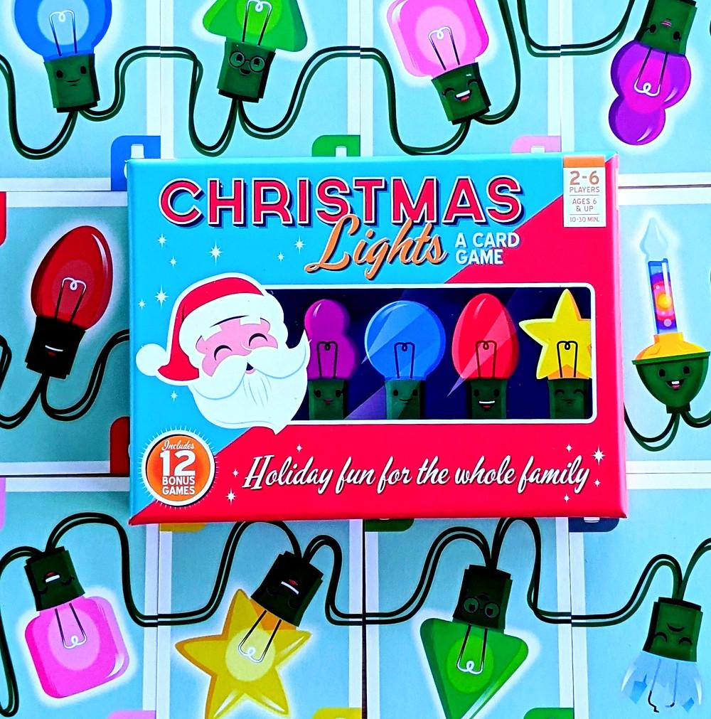 Christmas Lights A Card Game Box