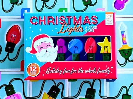 Oh Christmas Game, Oh Christmas Game - Christmas Lights A Card Game