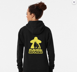 Yellow Cat Meeple - Sweatshirt