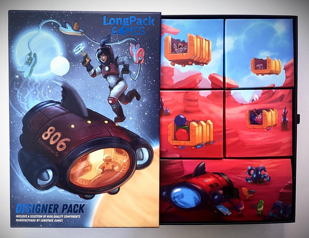 LongPack Games Designer Pack opened