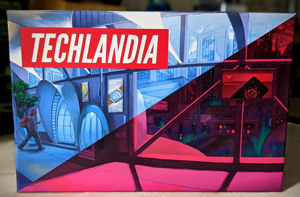Techlandia Box Art