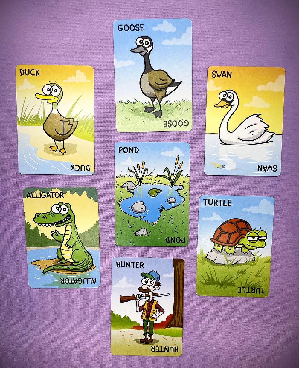 Quack, Quack! Cards