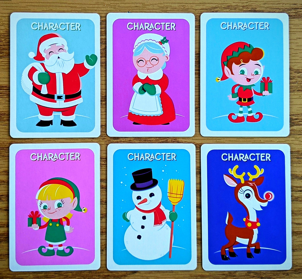 Christmas Lights A Card Game Character Cards