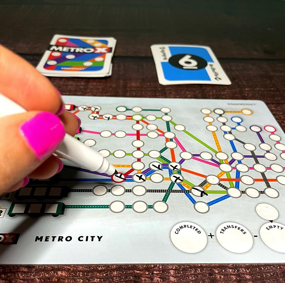 Metro X game play