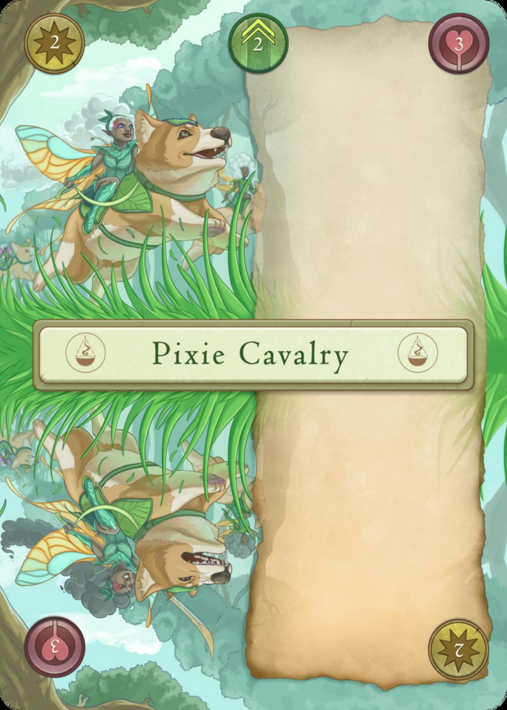 Pixie Cavalry Card