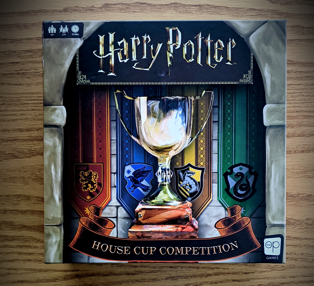 Harry Potter House Cup Championship Box