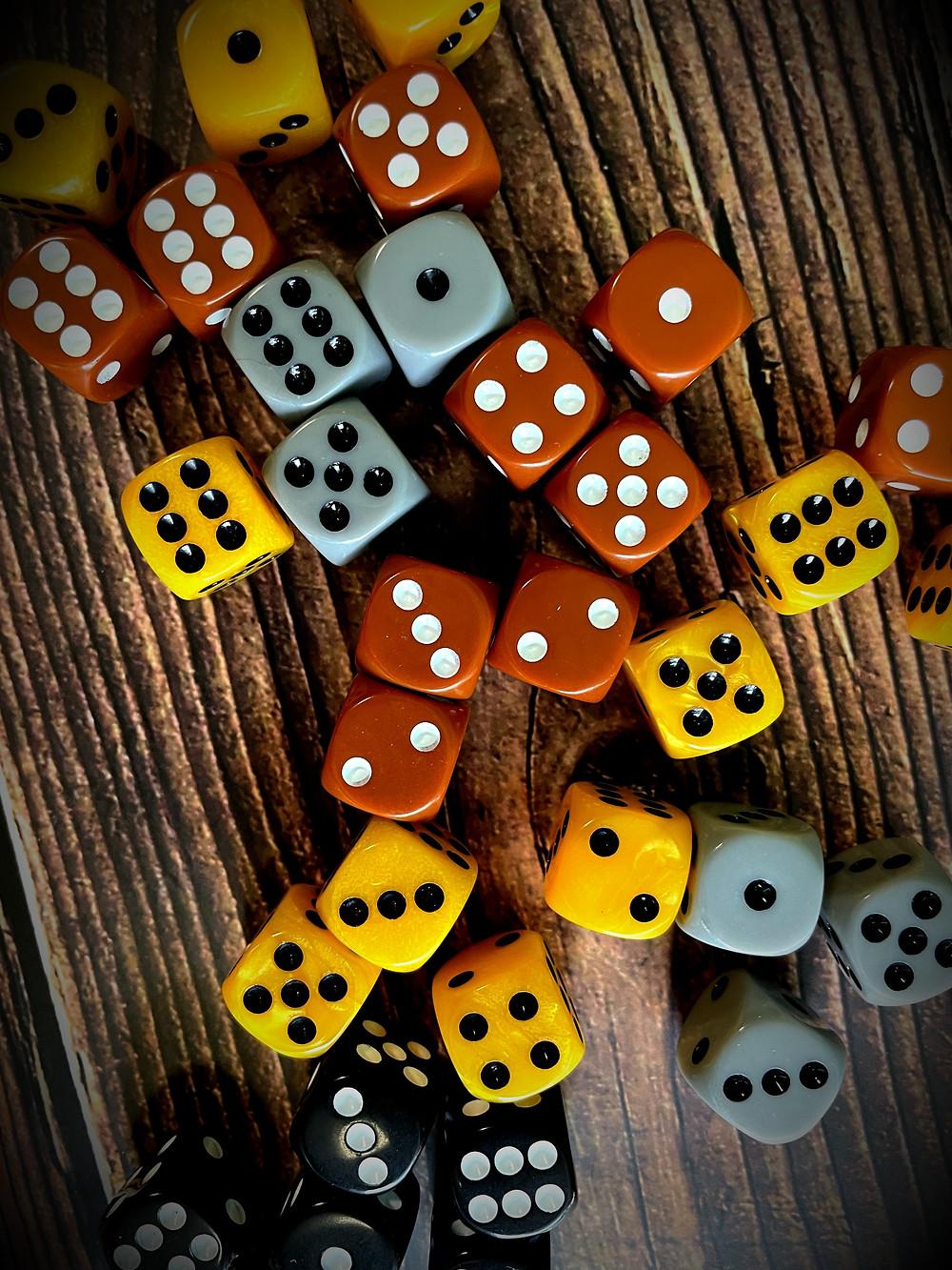 Tumble Town dice