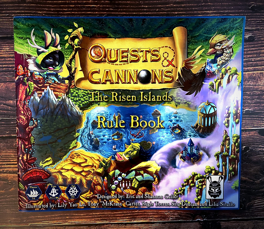 Quests & Cannons Box