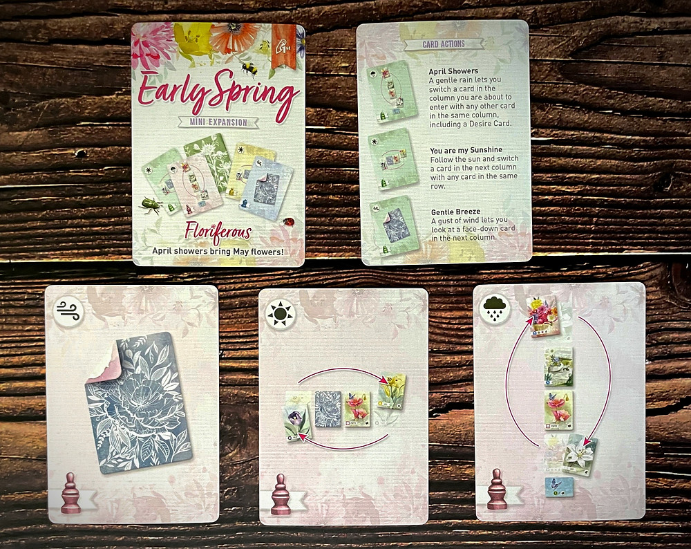 Floriferous early spring expansion