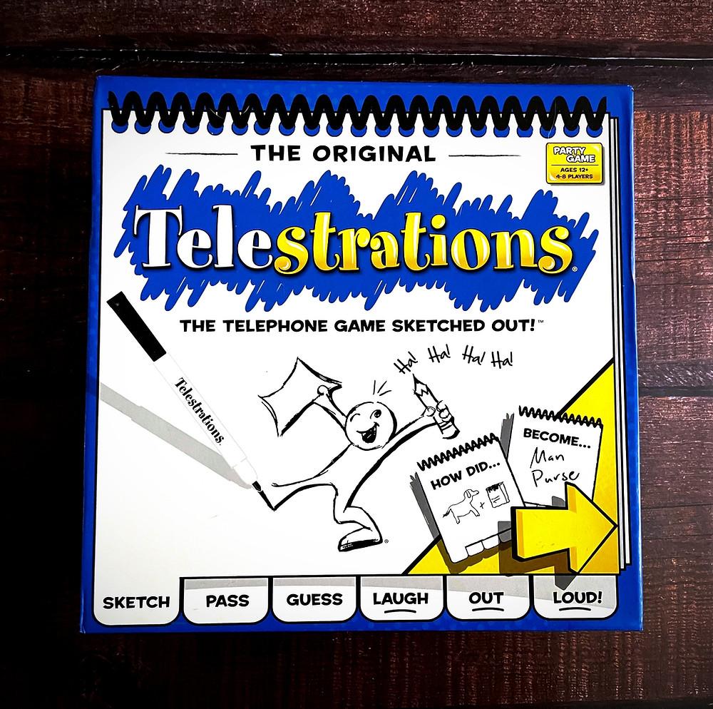 Telestrations Box