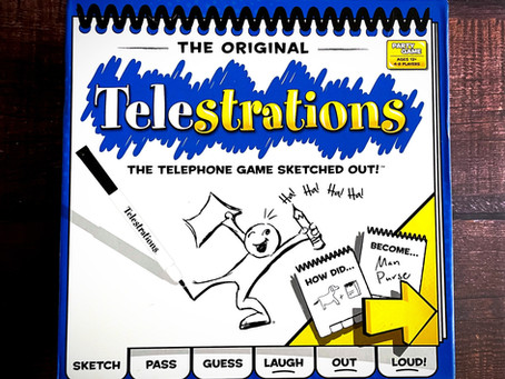 Telephone + Drawing = Telestrations