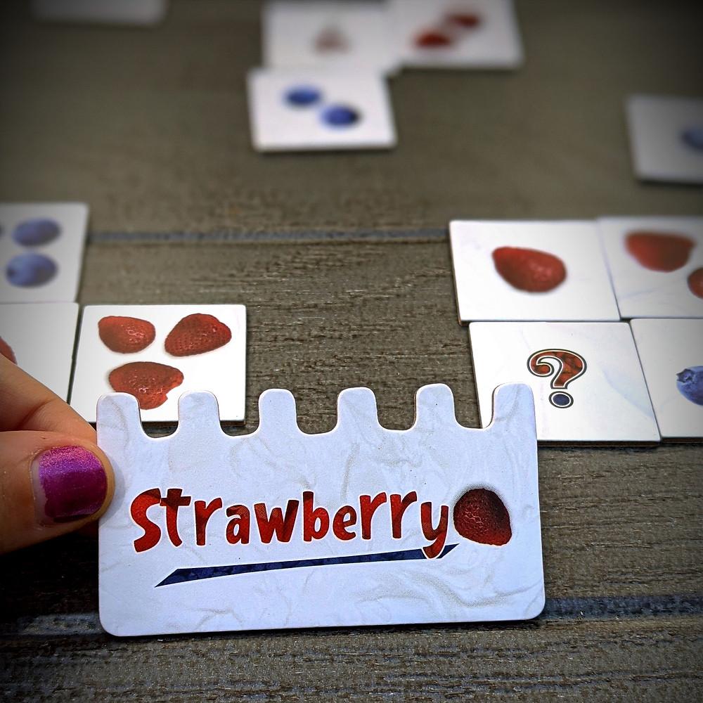 team strawberry cake base