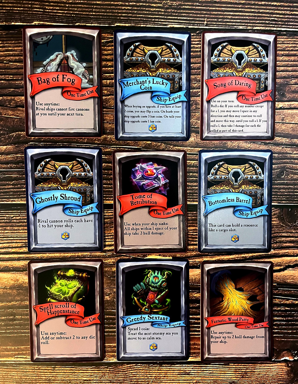 Quests & Cannons cards