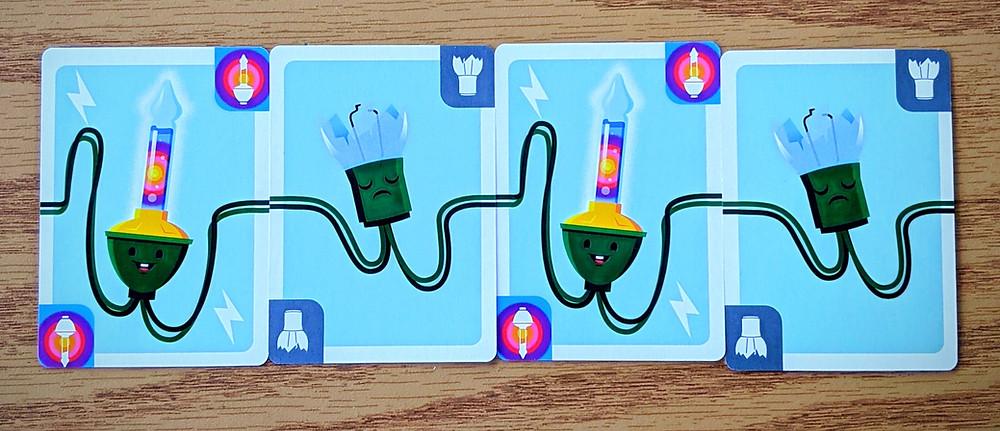 Christmas Lights A Card Game Broken Bulbs and Bubble Bulbs