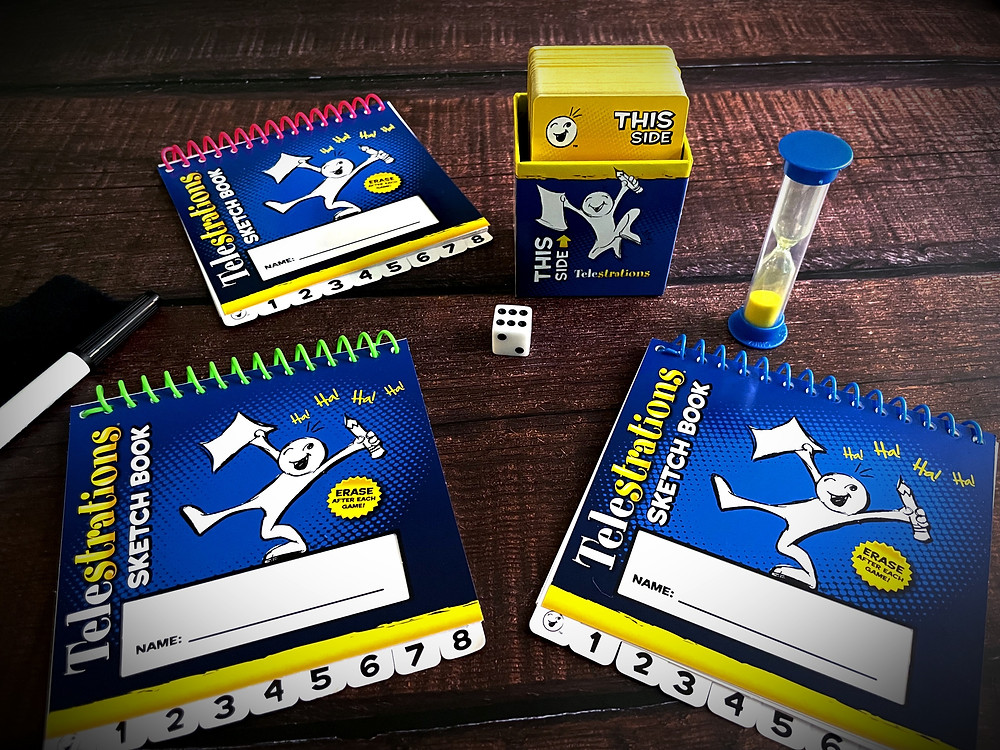 Telestrations Components