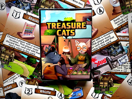 Feline Adventurous? - Treasure Cats