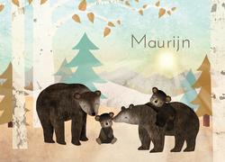 geboortekaartje-Maurijn