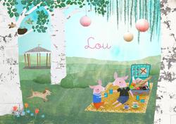 geboortekaartje-Lou-voorkant