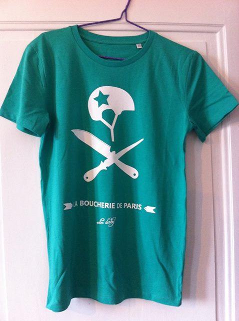 T- shirt vert 15€